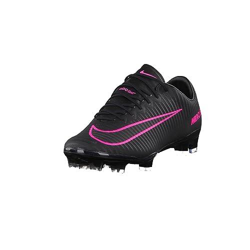 Nike Mercurial Vapor XI FG, Scarpe da Calcio Uomo, Nero, 39