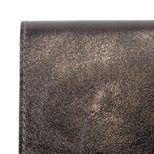 Embrayage Metallic Cuir Modamoda Petit Bronze De Suede M151 Italien T151 PfPzgwx