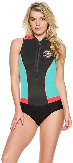 08c43fdcef5f17 Amazon.com: Rip Curl G-Bomb Cap Sleeve Spring Suit: Clothing