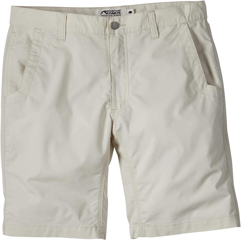 Mountain Khakis Stretch Poplin Shorts Slim Fit