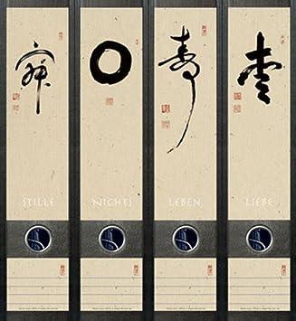 File Art aj057 Diseño Etiquetas - Etiquetas para archivadores: Amazon.es: Oficina y papelería