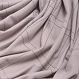 AFBLR Scarf shawl bib shawl cloak Pure cashmere scarf widened with versatile bead shawl