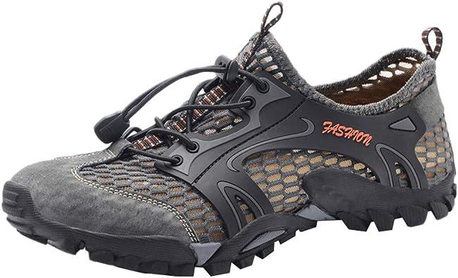 Nouveau homme respirant Randonnée Chaussures De Sport Trekking Outdoor Baskets