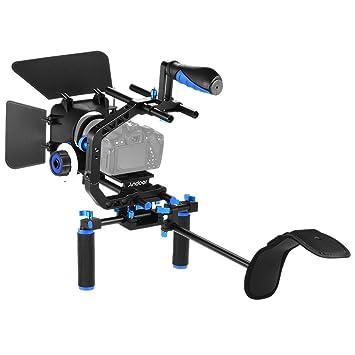 Andoer D102 Aleación de Aluminio Kit Jaula de Videocámara Video ...