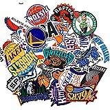 NBA チームロゴ バスケットボール[防水加工]ステッカー / 30枚セット