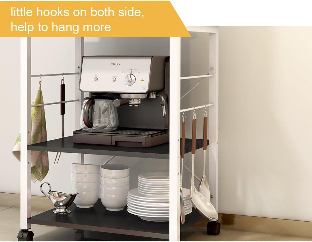 Amazon.com: Soges - Estantería de 3 niveles para horno ...