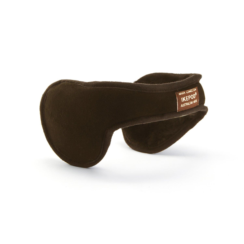 Ohrenschützer Wärmend, hergestellt aus australischer Schafswolle, Unisex, von ikepod Schwarz Shanghai LG IMP&EXP CO. LTD