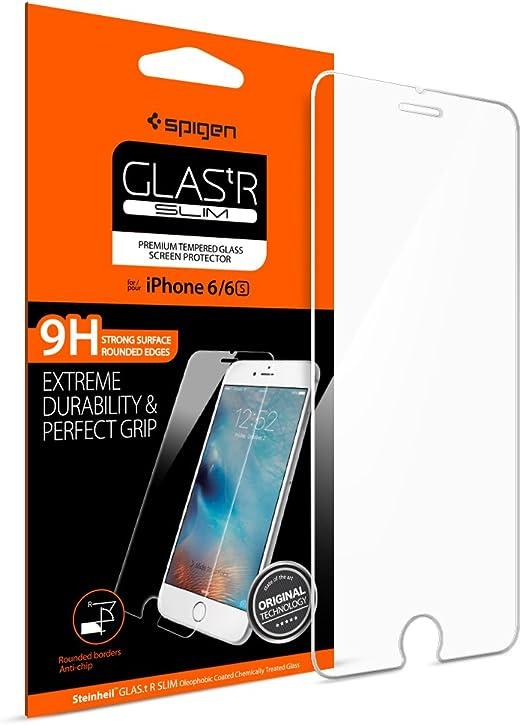 Spigen SGP11588 Film de protection d'écran pour iPhone 6S Transparent