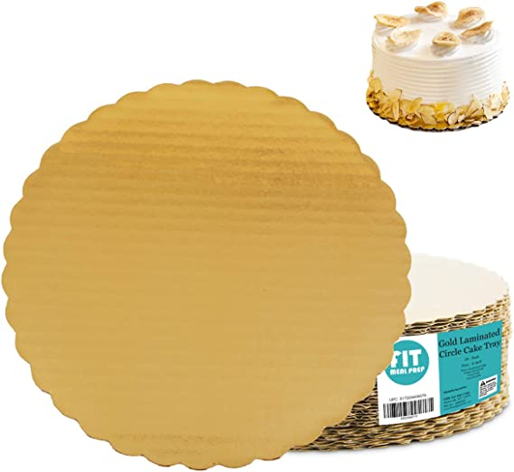 make your own cake board - Gold Cake tray