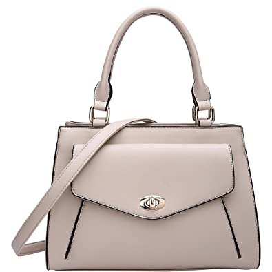 59a0f8a5d98f MKF Collection by Mia K. Farrow Katie Satchel (Apricot)  Handbags ...