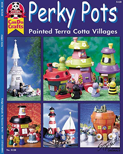 - Perky Pots: Painted Terra Cotta Villages (Design Originals can do crafts)