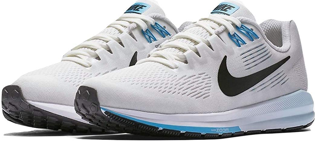 Nike Womens Air Zoom Structure 21 Ankle-High Mesh Running Shoe