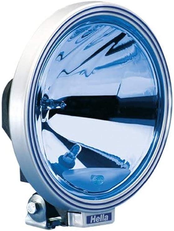 Hella 1f8 006 800 321 Ff Halogen Fernscheinwerfer Rallye 3000 12 24v Rund Referenzzahl 37 5 Anbau Lichtscheibenfarbe Blau Links Rechts Auto