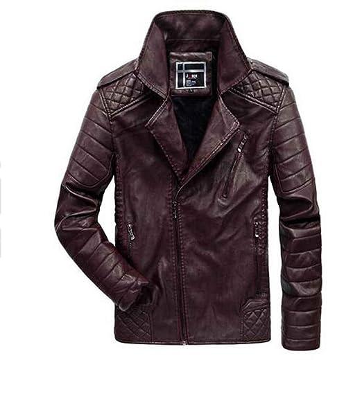 Hombres Chaquetas invierno de Moto Para Hombre Chaquetas Otoño Casual Coat, xxxxl: Amazon.es: Ropa y accesorios