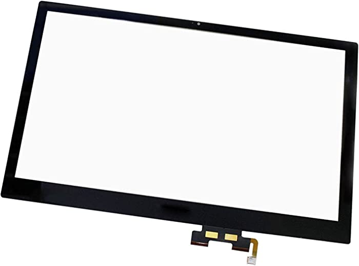 "15.6"" Laptop Touch Digitizer Panel Front Glass Screen Replacement for Acer Aspire V5-572P-6610"