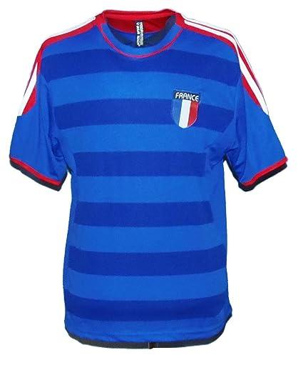967378cb4fbbf World Cup France Men's Blue Soccer Jersey