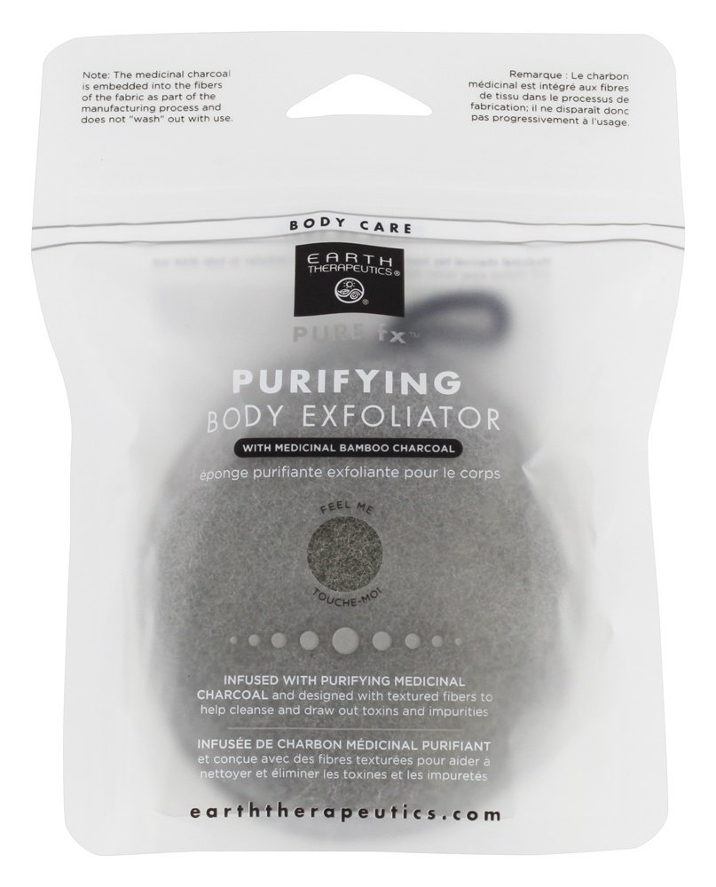 Earth Therapeutics - Pure fx Purifying Body Exfoliator with Medicinal Bamboo Charcoal