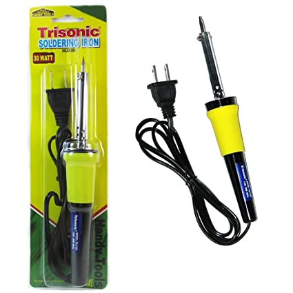 Amazon.com: New Soldering Iron 30 Watt 110V Electric Welding Solder Tools Gun Pencil Crafts: Home Improvement