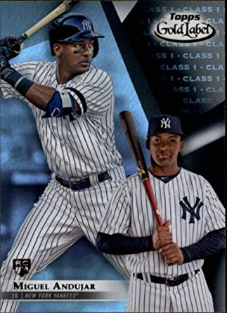 2018 Topps Gold Label Class 2 #98 Gleyber Torres New York Yankees Rookie Card