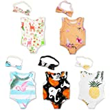 Fashion 5-Sets oll Rompers Bikini Clothes Outfits for 18 inch Dolls New Born Baby Dolls American Gril Dolls