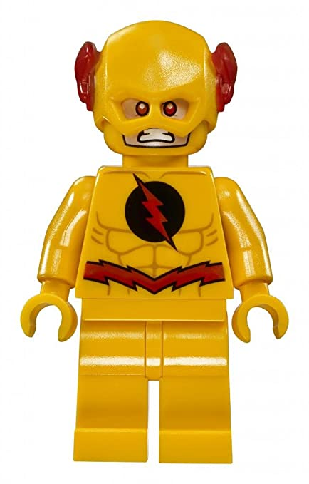 Great LEGO DC: Justice League   Reverse Flash Minifigure 2018