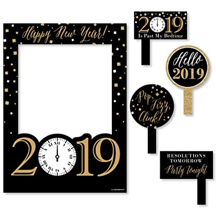 Amazoncom Big Dot Of Happiness New Years Eve Gold 2019 New