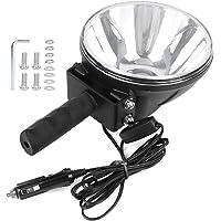 LED Handheld Searchlight, 7in Portable High Brightness Spotlight, High Brightness 40W Practical Mirror Spotlight…