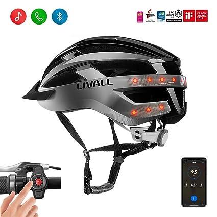 c5c73dda6fc LIVALL MT1 Smart Helmet, Cycling Mountain Bluetooth Helmet, Sides -Built-in  Mic