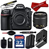 Nikon D850 FX-format Digital SLR Camera w/AF-P DX NIKKOR 18-55mm f/3.5-5.6G VR Lens + 32GB Memory Card + Deluxe Accessory Bundle (12 items) …