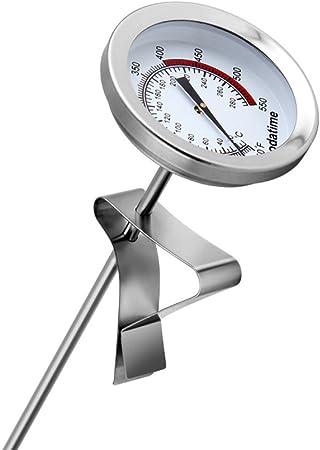 Compra LDFN Termómetro De La Temperatura del Aceite Termómetro De La Sonda De La Comida Termómetro De La Freidora Termómetro Líquido, Silver-20cm en Amazon.es
