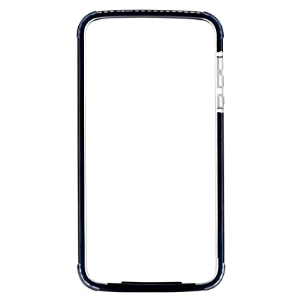 Amazon.com: Moto Z2 Force Case Bumper Black / Clear Compatible With Moto Mods (Ademite) : Cell Phones & Accessories