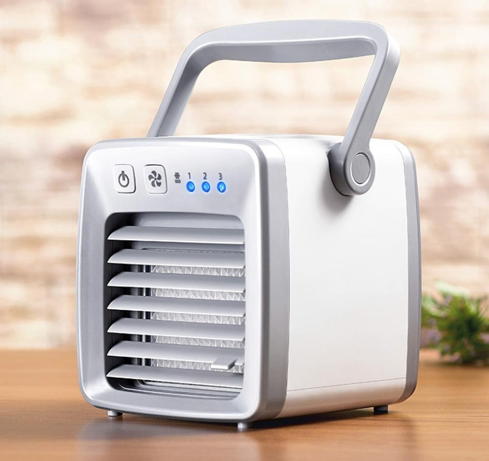 WensLTD Portable Air Conditioner, USB Charging Air Conditioner Fan Mini Portable Refrigerator Cooler Table Fan WensLTD Air Cooler