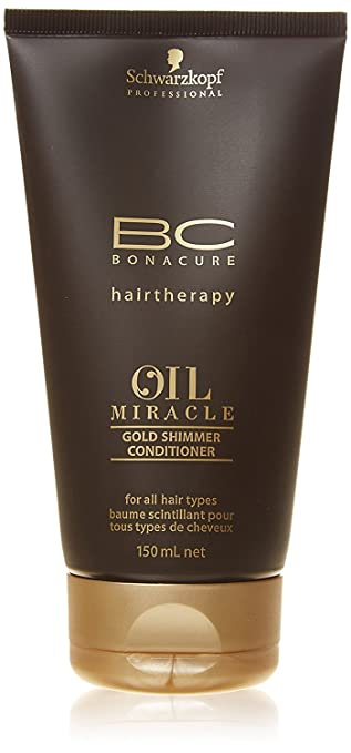49e316f7f0 Image Unavailable. Image not available for. Color: Schwarzkopf BC Oil  Miracle Gold Shimmer Conditioner ...
