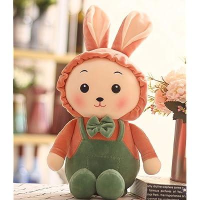 HHTTbAO Conejo, Peluche 45cm Regalo para niños Regalo de cumpleaños Adecuado para bebé muñeca de Mano Comodidad Juguete Almohada Almohada: Juguetes y juegos