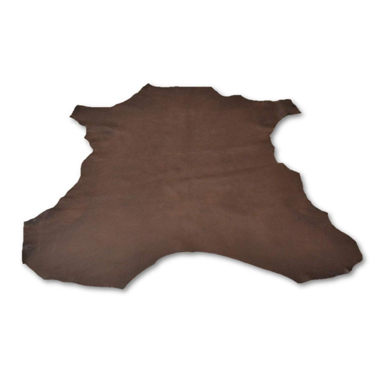 Amazon.com: The Leather Guy - Leather New Zealand Deerskin Hide 11.2 SqFt 2 1/2oz Fudge Brownie Flat Grain - B: The Leather Guy of MN