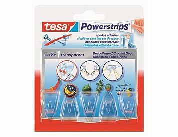 Tesa Powerstrips Deko Haken58900 00013 00 Transparent Inh5 Haken