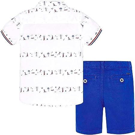Mayoral Conjunto Bermuda + Camisa Royal Blue niño
