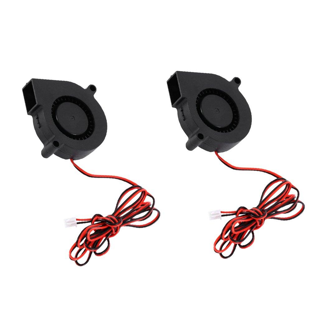 Gazechimp 2pcs Ventilador Accesorios para Impresora 3D Protección ...