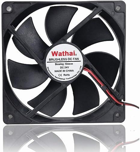 2pcs 120mm 12V 3Pin 120x120x25mm Computer CPU Case Brushless Cooling Fan 12cm