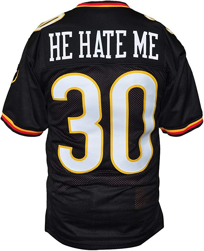 Rod Smart He Hate Me Football Jersey All Sewn LV Outlaw