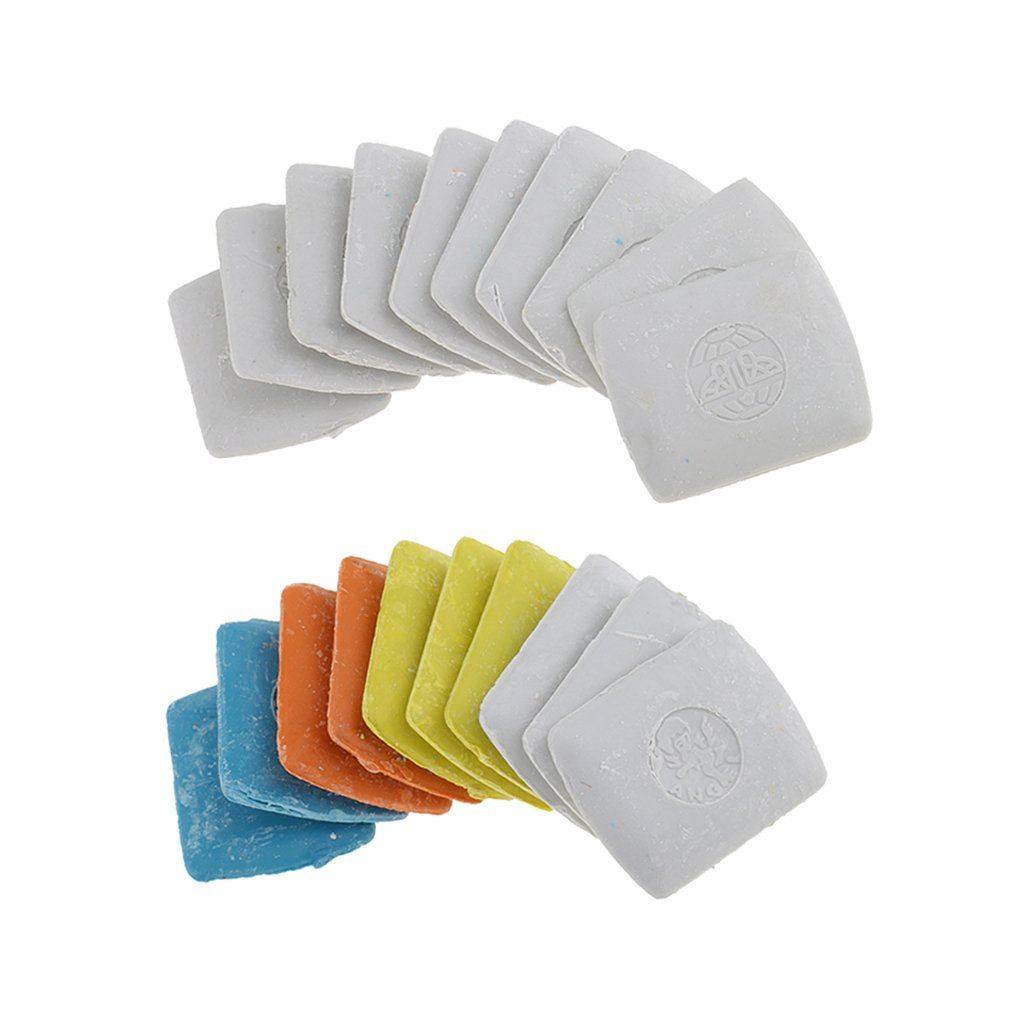 20 Pieces Tailors Chalk Square Chalks for DIY Tailoring Sewing Quilting Crafting