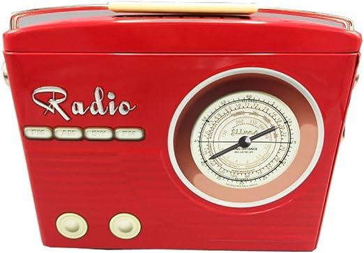 stylebox Caja de conservación y Decorativa de Metal - Radio Rojo ...