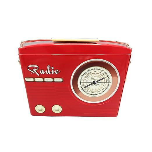 stylebox Caja de conservación y Decorativa de Metal - Radio ...
