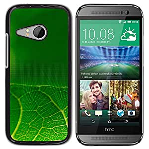 Stuss Case / Funda Carcasa protectora - Green Web Stitching - HTC ONE MINI 2 / M8 MINI