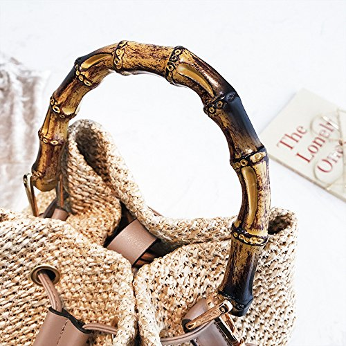 tracolla tessuto Bag Borsa zaino Coreano in Borse Borse viaggio a di Borsa a spiaggia catena Borsa Borsa Borse borsetta paglia Borsa Borsa moda da Messenger JUNMAONO Donna di da elegante tracolla x6pOXp