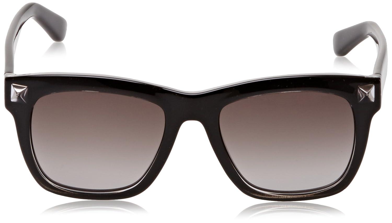 Valentino Damen Sonnenbrille Eye, Schwarz (Nero), 54
