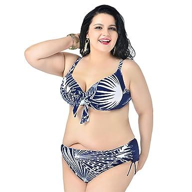 MingTai Bikini Con Taglie Forti Costumi Da Bagno Due Pezzi Beachwear ...