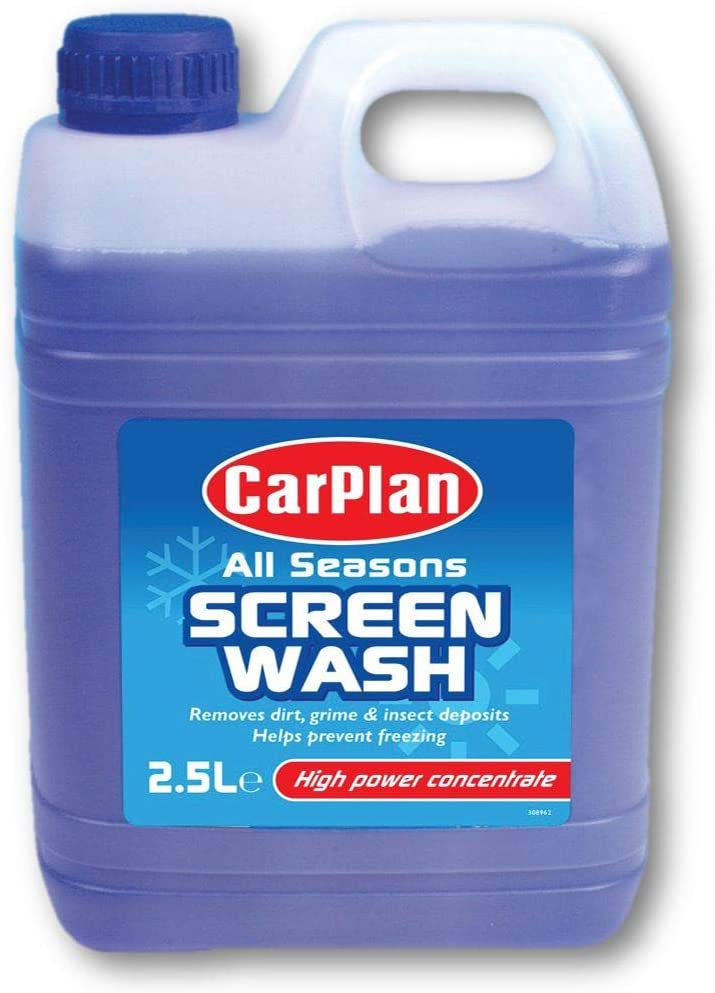 Motorcycle CarPlan All Seasons Screen Wash Car Van SWA025 - 2.5 Litres: CarPlan: Amazon.es: Salud y cuidado personal