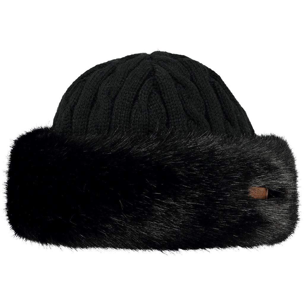 Barts Fur Cable Bandhat Beret 15-0000001630