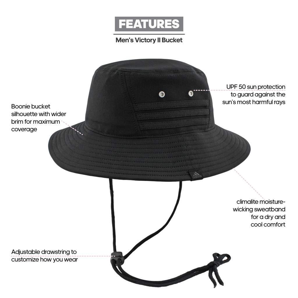 da4ef656d adidas Men's Victory II Bucket Hat
